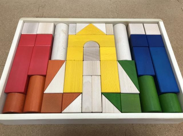 ボーネルンドオリジナル積み木カラーの画像