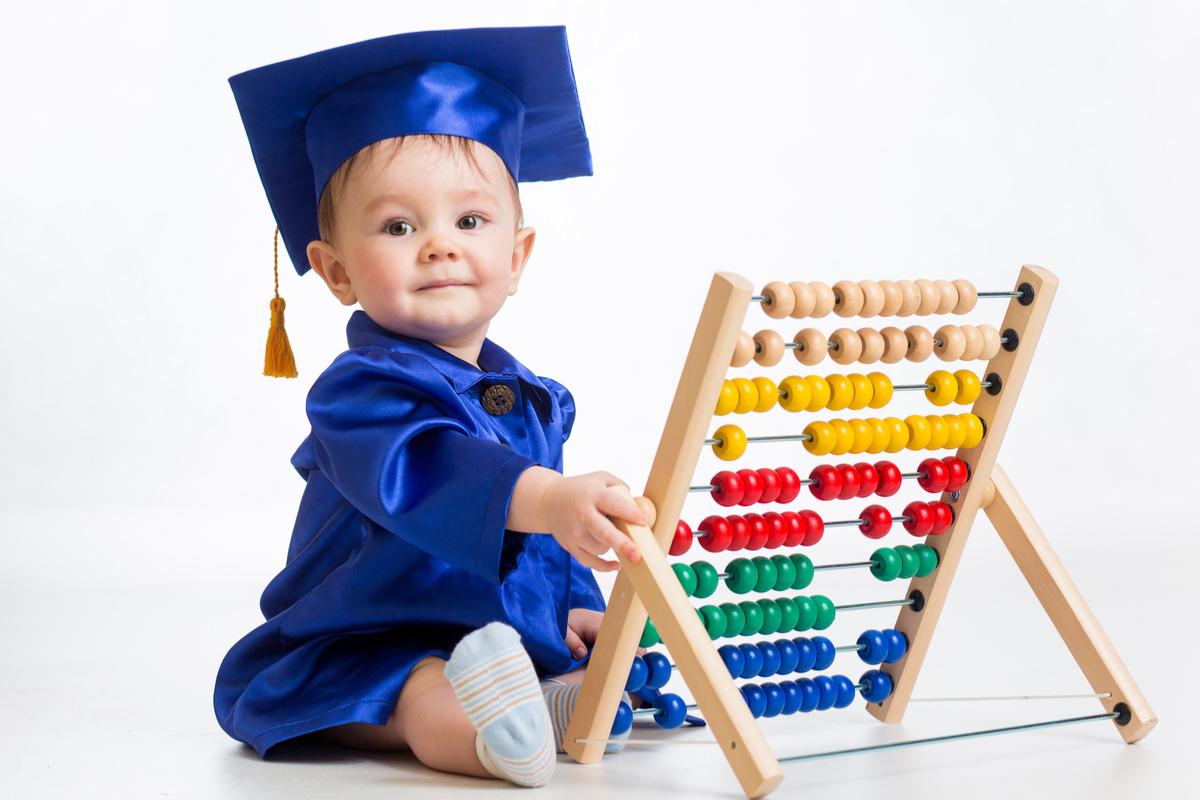 幼児教育を受ける赤ちゃん